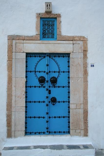 Sidi bou said voyages en tunisie for Decoration porte sidi bou said
